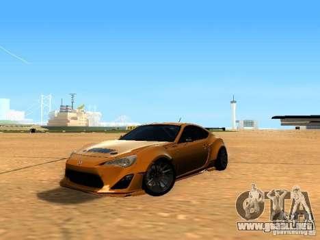 Toyota FT86 Rocket Bunny V2 para GTA San Andreas