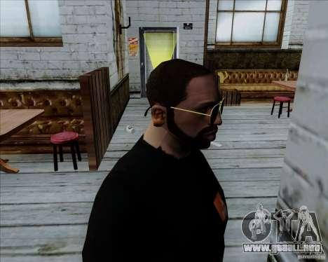Gafas de aviador para GTA San Andreas segunda pantalla