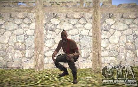 Vaas de Far Cry 3 para GTA San Andreas segunda pantalla