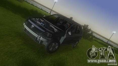 Dacia Logan para GTA Vice City vista superior