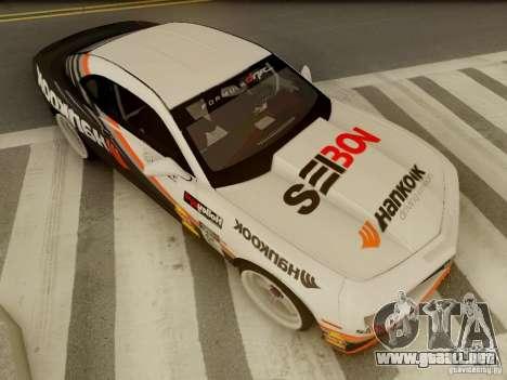 Chevrolet Camaro Hankook Tire para visión interna GTA San Andreas
