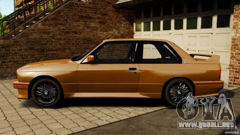 BMW M3 E30 Stock 1991 para GTA 4 left