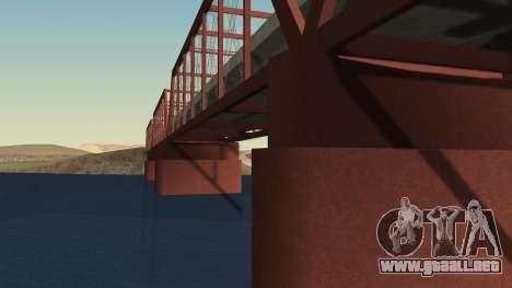 El nuevo puente de LS-LV para GTA San Andreas segunda pantalla