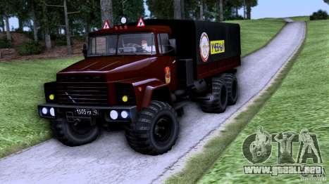 Escuela de manejo de camiones para GTA San Andreas