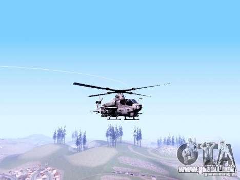 AH-1Z Viper para GTA San Andreas