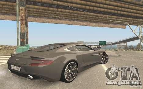 Nueva reflexión en el coche para GTA San Andreas sucesivamente de pantalla
