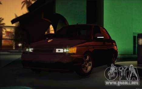 VAZ 2110 drenaje para visión interna GTA San Andreas