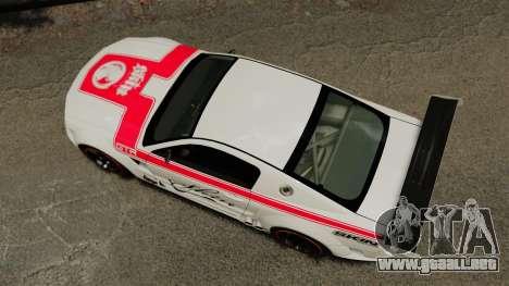Ford Mustang GTR para GTA 4 visión correcta