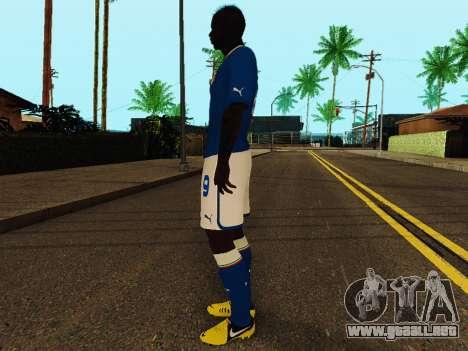 Mario Balotelli v4 para GTA San Andreas tercera pantalla