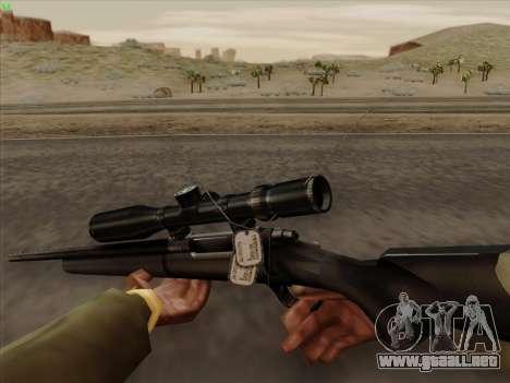 Remington 700 para GTA San Andreas tercera pantalla
