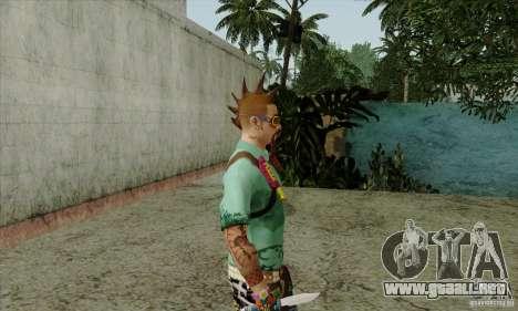 Piel sustituir Fam1 para GTA San Andreas sucesivamente de pantalla