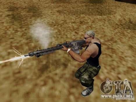 La ametralladora MG-42 para GTA San Andreas tercera pantalla