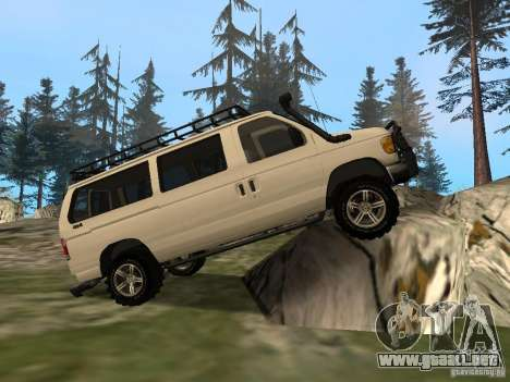 Ford E-150 OffRoad para GTA San Andreas left