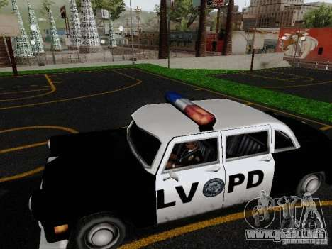 Cabbie Police LV para GTA San Andreas left