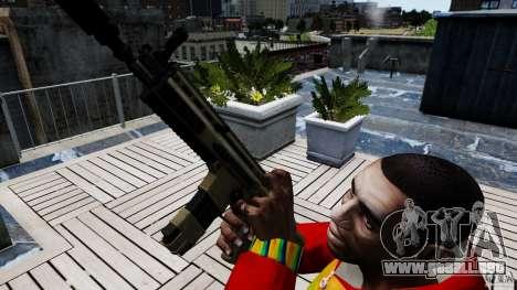 SCAR-L para GTA 4 tercera pantalla