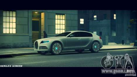 Bugatti Galibier 16C (Bug fix) para GTA 4 left