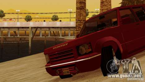 Huntley Freelander para vista inferior GTA San Andreas