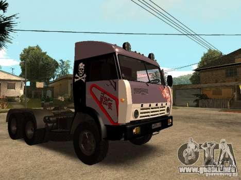 KAMAZ 5410 para vista inferior GTA San Andreas