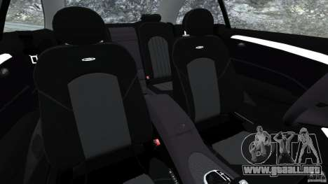 Mercedes-Benz CLK 63 AMG para GTA 4 vista interior