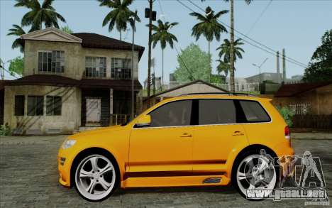 Volkswagen Touareg R50 Light para GTA San Andreas left