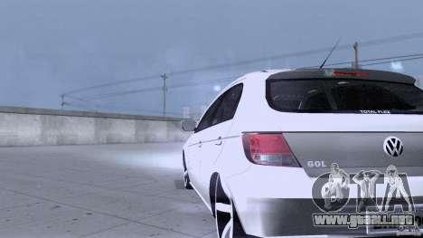 Volkswagen Golf G5 para visión interna GTA San Andreas