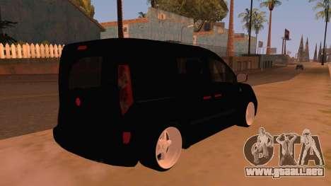 Renault Kangoo para la visión correcta GTA San Andreas
