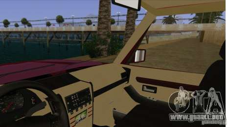Huntley Freelander para visión interna GTA San Andreas