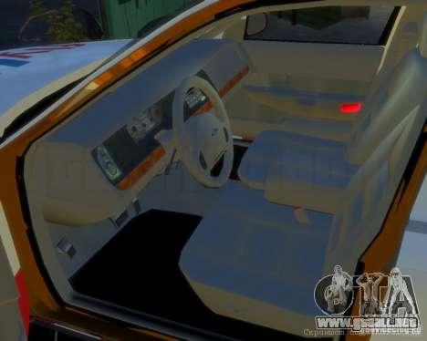 Ford Crown Victoria for FlyUS Car para GTA 4 left