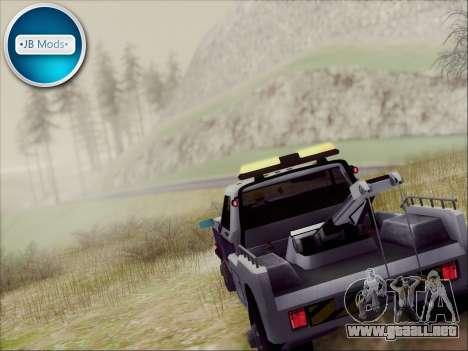 New Towtruck para GTA San Andreas left