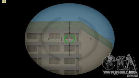 Visor óptico de GTA 5 para GTA Vice City sucesivamente de pantalla