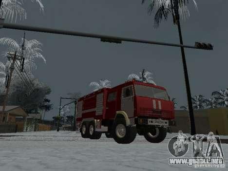 KAMAZ 43118 AC-7 para la visión correcta GTA San Andreas