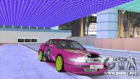 Nissan Silvia S13 Sword Art Online para visión interna GTA San Andreas