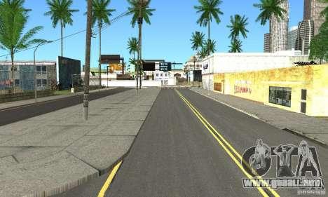 Real HQ Roads para GTA San Andreas sucesivamente de pantalla