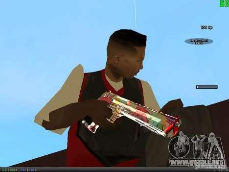 Graffiti Gun Pack para GTA San Andreas octavo de pantalla