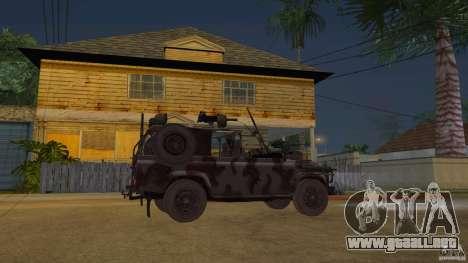 Land Rover WMIK para GTA San Andreas
