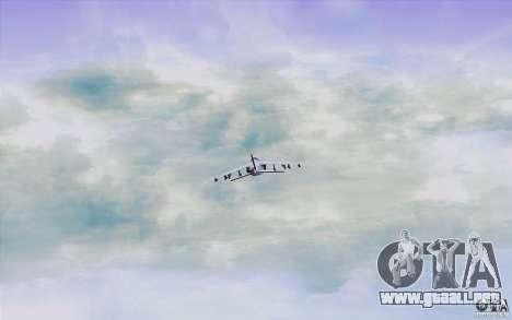 Sky Box V2.0 para GTA San Andreas sexta pantalla