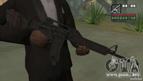 M16A4 from BF3 para GTA San Andreas