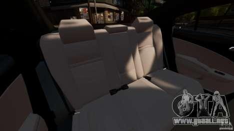 Dodge Charger RT Max FBI 2011 [ELS] para GTA 4 vista lateral