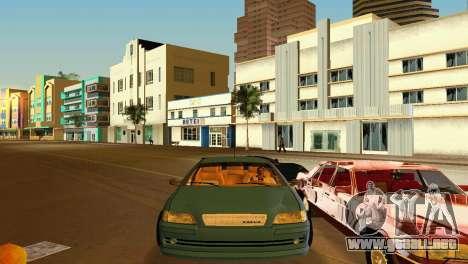 VOLVO V40 para GTA Vice City vista posterior