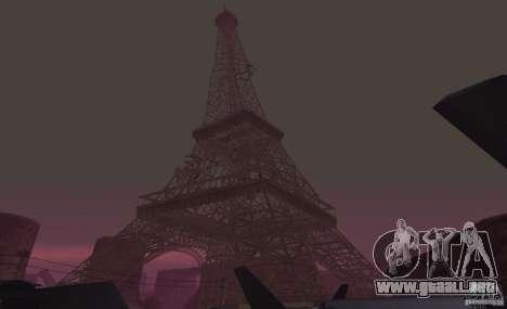 La Torre Eiffel de Call of Duty Modern Warfare 3 para GTA San Andreas
