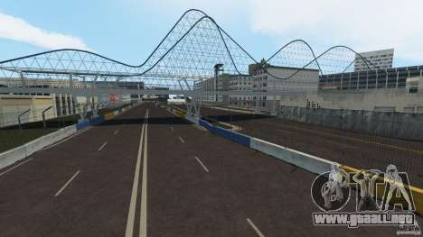 Long Beach Circuit [Beta] para GTA 4 quinta pantalla