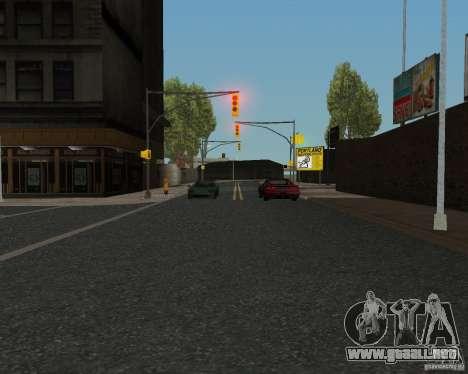 Nuevas texturas de carretera para GTA UNITED para GTA San Andreas sexta pantalla