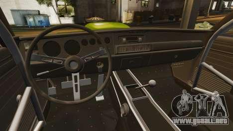 Dodge Charger RT SharkWide para GTA 4 vista lateral