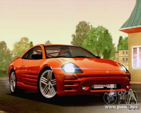 Mitsubishi Eclipse GTS 2003 para GTA San Andreas left