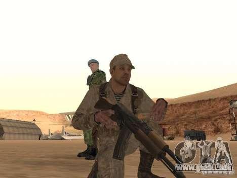 Piel de un soldado soviético para GTA San Andreas tercera pantalla