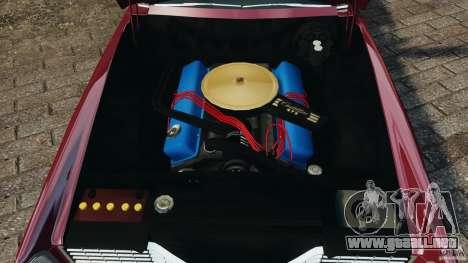 Cadillac Eldorado 1968 para GTA 4 vista superior