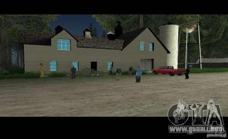 Sult Epsilon para GTA San Andreas segunda pantalla
