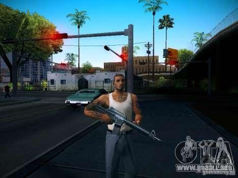 Cambiar los caracteres para GTA San Andreas