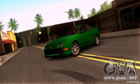 Honda Integra Tunable para GTA San Andreas left