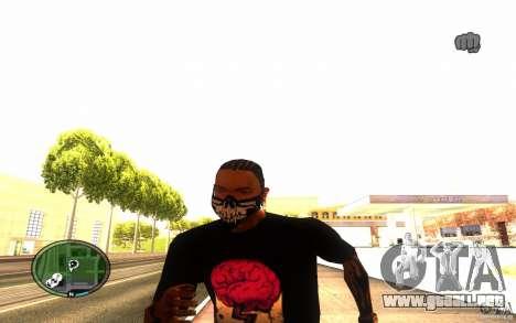 Skull Mask para GTA San Andreas quinta pantalla